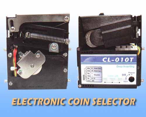CL-010T Top drop Coin selector
