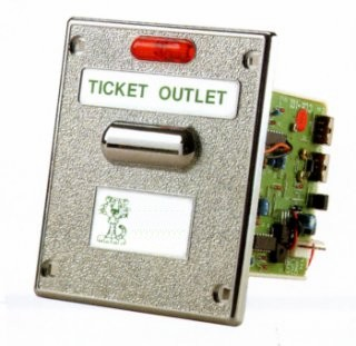 CL-101 Anti-Theft Ticket Dispenser with 4 Markings