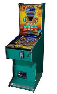 CL-1601W Maya Pinball (5-6-7 Ball)